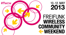 Freifunk Wireless Community Weekend 2013