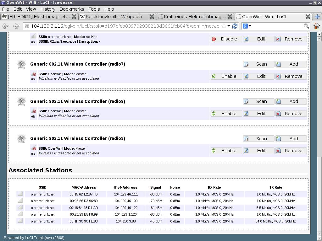 Raspberry Pi und OpenWRT – wiki freifunk net
